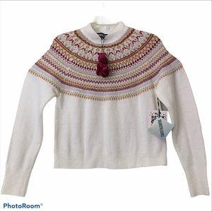 Sweet & Sinful SweaterCropped LongSleeve Christmas